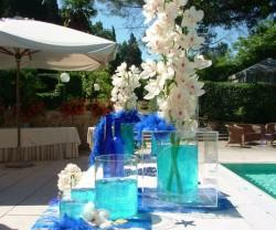 Matrimonio Tema Blu E Bianco : Idee per un matrimonio con il tema u cmareu d kenozze
