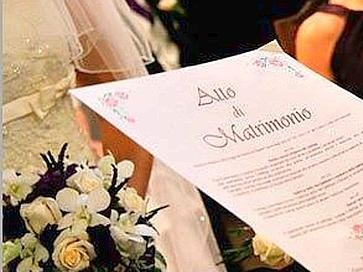 Il matrimonio con rito civile for Differenza unione civile e matrimonio