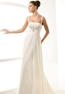 Cartamodello abito da sposa stile impero